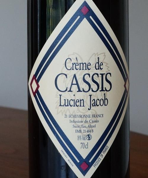 Nv Domaine Lucien Jacob Creme De Cassis France Cellartracker