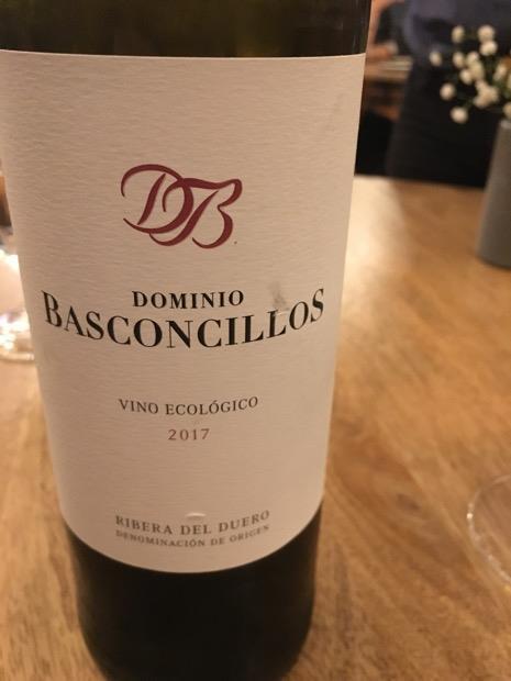 2017 Dominio Basconcillos Ribera del Duero Roble, Spain, Castilla y León, Ribera del Duero