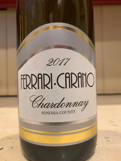 2017 Ferrari Carano Chardonnay Usa California Sonoma County Cellartracker