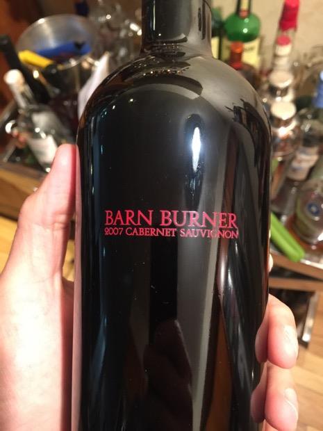 2007 Tom Scott Vineyard Cabernet Sauvignon Barn Burner ...